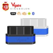 Новое Поступление Vgate iCar2 Bluetooth OBD Сканер икар 2 elm327 Bluetooth Диагностический Интерфейс с Бесплатной Доставкой