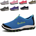 Summer Plus Men Shoes Women Casual Shoes Summer Mesh Shoes Women Slip On Light Walking Men Flats Zapatillas Large Size 45 46 47