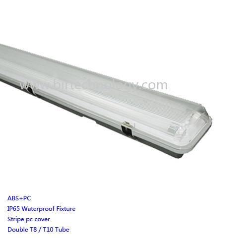 T8 Double Light Fixture: 120cm/4ft IP65 Waterproof Led Tube Light Fixture CE ROHS