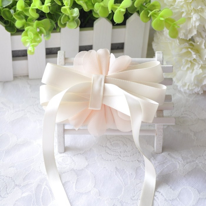 Free shipping hand champagne bridal bridesmaid hand wrist flower free shipping hand champagne bridal bridesmaid hand wrist flower corsage flower theme wedding decoration accessories in artificial dried flowers from home junglespirit Choice Image
