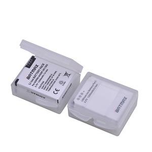 Image 3 - 4 pezzi 1250mAh Hero 3 Gopro Hero3 sostituzione batteria LED caricatore doppio USB per GoPro Go pro Hero 3 3 telecamere
