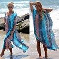 2016 New Women Beach Dress Bathing Suit Swimsuit Summer Femme Loose Dashiki Swimwear Floor Long Maxi Wear PlayaPraia