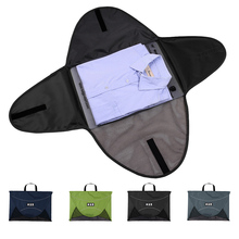 ecosusi Men T Shirt Fold Packing Storage Bags For 1-5pcs Clothes Packing Cubes To Traveling Protector Box Organize Suitcase