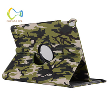 2018 NEW for iPad Air 2 case Rotating bracket van gogh Camouflage Shock Proof Soft TPU Auto Sleep/Wake up Smart Cover for iPad