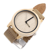 Brand Bamboo Wood Casual Watches for Men