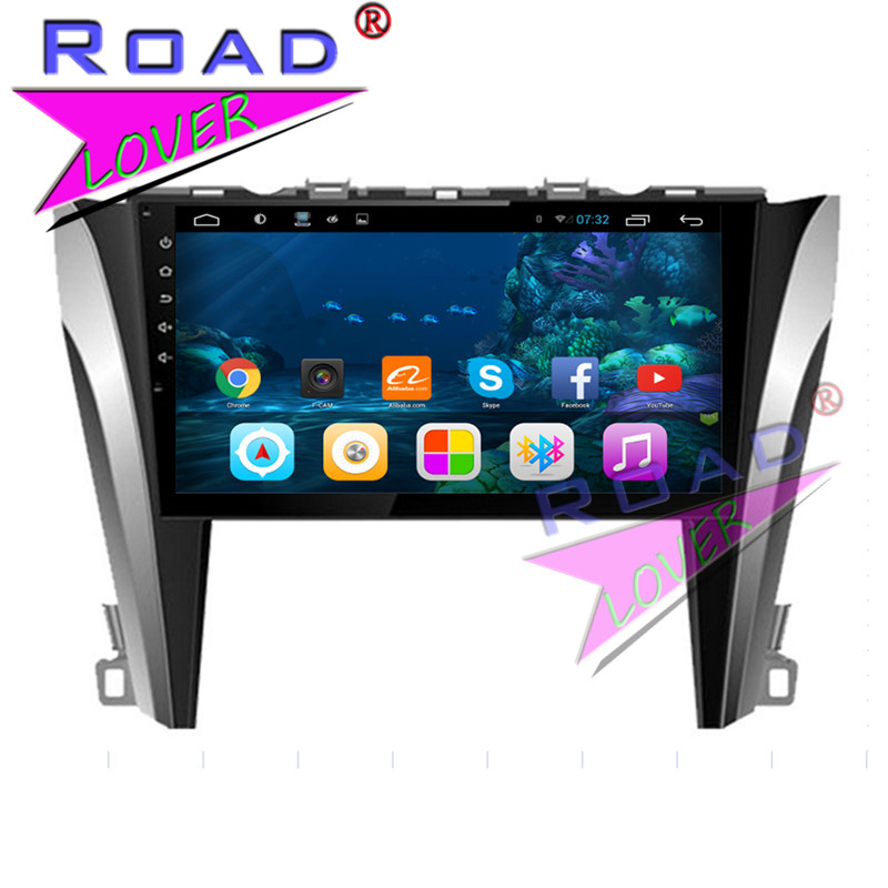 TOPNAVI 2G 32GB Quad Core Android 6 0 Car Media Center Player Video For Toyota Camry