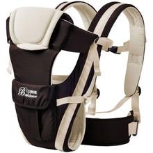 2–30 месяцев дышащий Универсальный фронтальная кенгуру Детские удобные слинг рюкзак мешок обёрточная бумага кенгуру