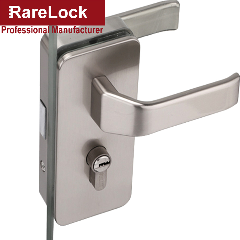 Rarelock MS396 Glass Door Handle Lock for Women Office Bag Showroom Door Hardware Office Hotel Meeting Room DIY Accessories aRarelock MS396 Glass Door Handle Lock for Women Office Bag Showroom Door Hardware Office Hotel Meeting Room DIY Accessories a