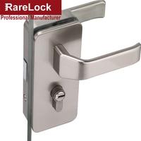 Rarelock MS396 Glass Door Handle Lock for Women Office Bag Showroom Door Hardware Office Hotel Meeting Room DIY Accessories a