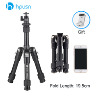 Photo Camera Mini Lightweight Tripod Portable Sport Tripod Holder with Ballhead Ball Head, Phone Clip for your Camera Smartphone