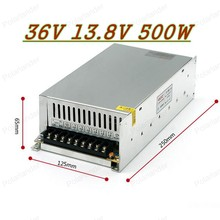 500W 36V 13.8A 220V INPUT Single Output Switching power supply for LED Strip light AC to DC