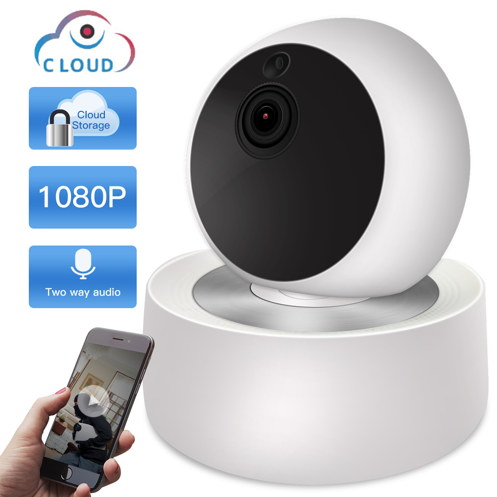 SDETER Cloud 2MP 1080P CCTV Wireless WIFI IP Camera Home Security Camera Surveillance Wifi Night Vision