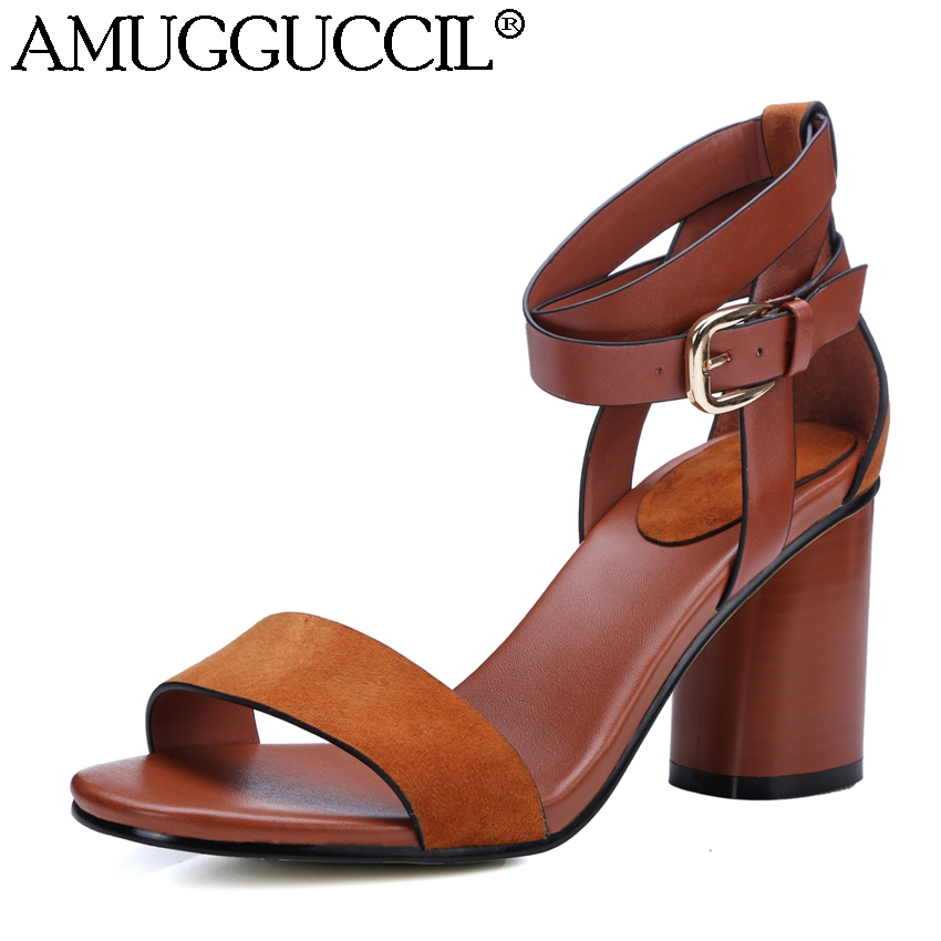 NEMAONE 2017 New elegant women shoes high heels sandals women summer ...