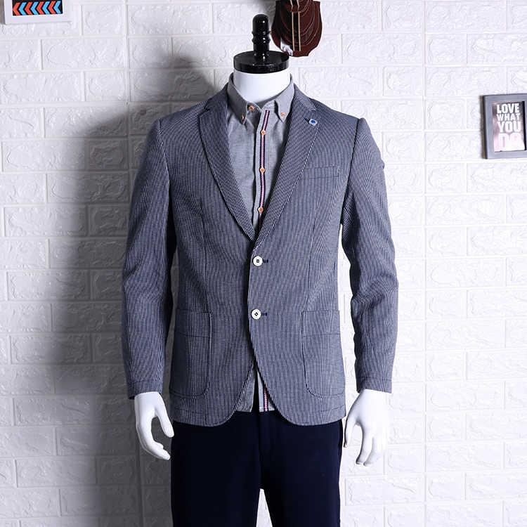 זול סיטונאי 2019 חדש סתיו חורף מכירה לוהטת גברים של אופנה netred עבודה מזדמן ללבוש נחמד מעיל MC103