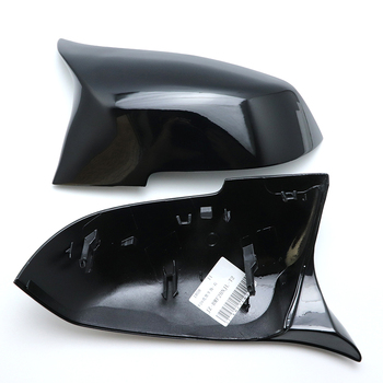 Vervanging zwart M3 M4 Look Achteruitkijkspiegel Cover Caps shell voor BMW 2 Serie F22 F23 218i 220i 228i Coupe & Cabrio