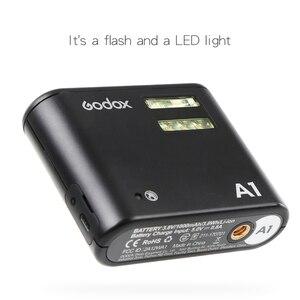 Image 4 - Godox A1 スマートフォンフラッシュシステム 2.4 グラムワイヤレスフラッシュフラッシュトリガーコンスタント Led ライトと iphone 6s 7 プラス