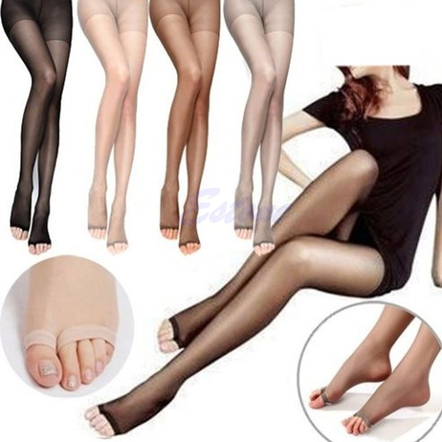 Open toe stockings sexy