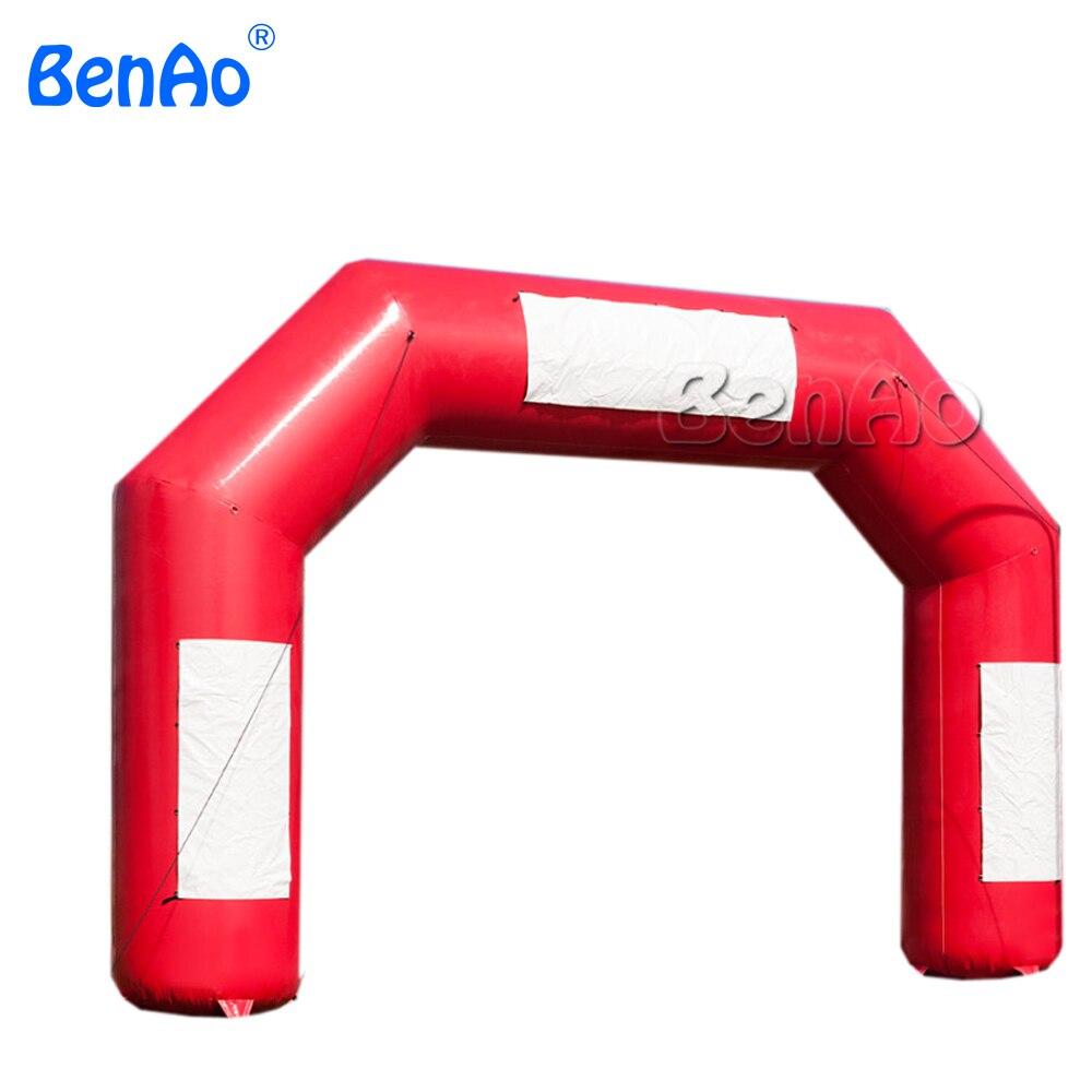 R095 BenAo inflatble finish line/raça inflável arco/arco início inflável, arco inflável publicidade arco inflável