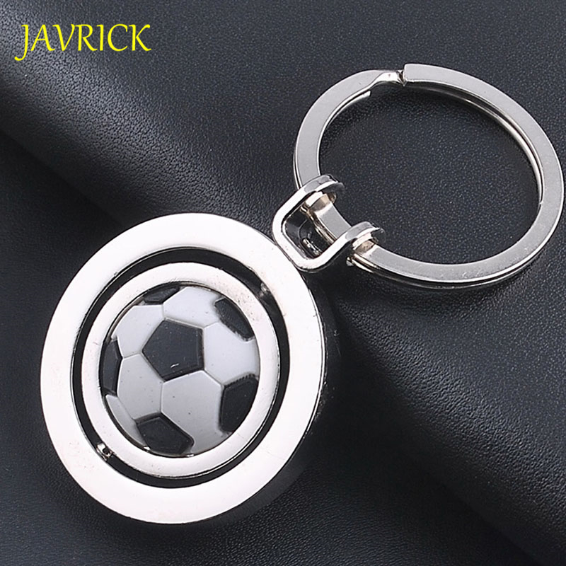 JAVRICK 3D Rotating Basketball/Football/Golf Key Chain Woman Men Kids Gifts Sneaker Key Holder Key Chain Hanging Accessories