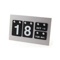 2019 DIY календарь Настольный календарь карточка Бизнес Календарь школьные принадлежности