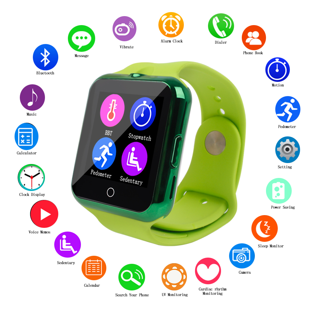 2016 Bluetooth Smart Watch C88 Sync Notifier Support SIM TF Card Multilanguage font b SmartWatch b
