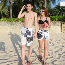 Aliexpress of high sales of beach pants Men and women lovers holiday beach pants big gray beach pants