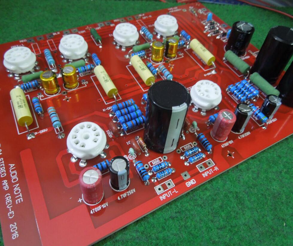 Hi End Stereo Push Pull El84 Vaccum Tube Amplifier Pcb Diy Kit Ref Hifi Low Power Audio Circuit Board Note Pp D4 004 In From Consumer Electronics On