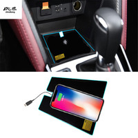 2RD quick Special on board wireless phone charging panel Car Accessories For Mazda CX 3 CX 3 CX3 2017 2018