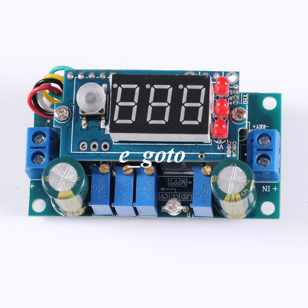 5a Dc Mppt Solar Energy Controller Buck Step Down Charging Supercap Charger Plus A 5v At 4a Converter From 55v To 30v Battery Board Module Constant Current Voltage Panel In Integrated Circuits