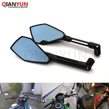 Aluminum CNC motorcycle Side mirror rearview Mirrors for Kawasaki Z900 Z 900 Z750 Z650 Z250 Z300 ER-6N NINJA 300R 250R 400R ZX9 free shiping motorcycle accessories side mirror cnc mirror rearview mirrors for kawasaki ninja 300 ex300 z300 ninja z250
