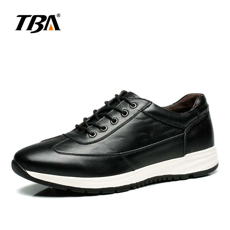 TBA Men Brand Running Shoes Spring and Summer Outdoor Breathable Boy Genuine Leather Sport Sneakers zapatillas deportivas hombre bmai mens running shoes mesh breathable anti slip outdoor sport sneakers stability shoes zapatillas deportivas hombre for men