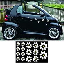 Il trasporto libero 16 fiori romantico grafica del vinile per per smart camion moto casco