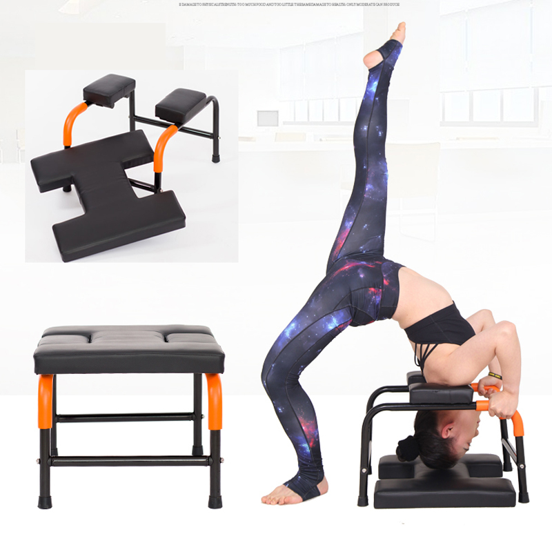 Inversion Yoga Upside Chair Indoor Gym Fitness Equipment Anti Gravity Building Training Machine Handstand machine HW109(China)