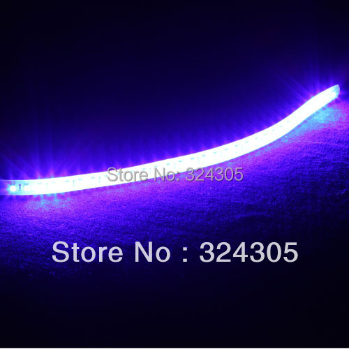 50X lamp car motorcycle automobile led 12v parking 30CM car styling Waterpoof 32LED 3528 SMD Decoration Strobe Flash Strip Light