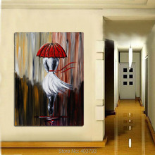 Huge Modern Hand-Painted Wall Decor Oil Painting On Canvas Street Landscape No Frame Home Decoration декоративный крючок huge home f000406