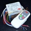 220 V Inalámbrico de 2 Vías EN/APAGAR La Lámpara Digital inteligente Interruptor de Control Remoto Transmisor Receptor Envío Gratuito 12000666