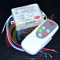 220V Wireless 2 Way ON/OFF Lamp Digital intelligent  Remote Control Switch Receiver Transmitter Shipping 12000666