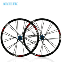26 Inch 24 Holes MTB Mountain Bikes Road Bicycles Disc Brake Wheel Hubs Rim Knife Circle