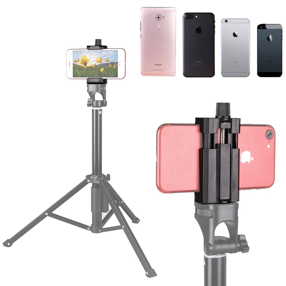 Image 5 - Kaliou Mobile Phone Go pro Accessories U Clip Holder for Gopros 7 6 5 4 3 2 1 Smartphone iPhones Huaweixiaom Selfie Stick Tripod-in Sports Camcorder Cases from Consumer Electronics