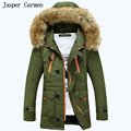 free shipping 2017 new arrival men's winter down coat thick stitching hooded coat warm jacket stylish jacket menM~XXL135