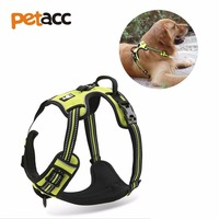 Petacc Handle Large Product Best Front Range Adjustable No Pull Dog Harness 3M Reflective Stripes Outdoor