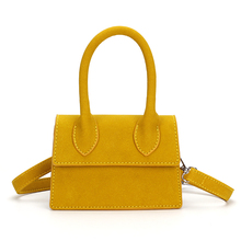 Fashion Mini Nubuck Top-handle Handbags Bags for Women 2019 Small Purse Bags Ladies Girls Shoulder Messenger Bag Phone Bag Chic