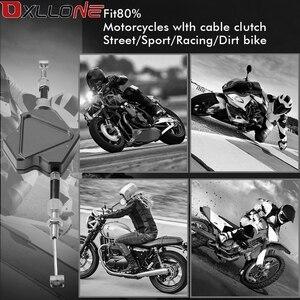 Image 5 - Motosiklet CNC alüminyum kolay çekme dublör debriyaj kolu Moto kablo sistemi için Honda CR250R CR 250R CR 250 R 2004 2005 2006 2007