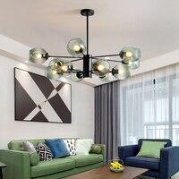 LED Moderne Kronleuchter Design für Wohnzimmer Schlafzimmer Eisen Innen Leuchte Design Kreative Hängen Lampen Hause Dekoration-in Kronleuchter aus Licht & Beleuchtung bei
