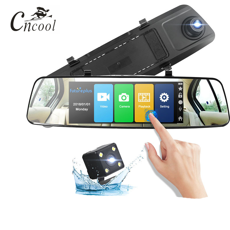 Cncool Car DVR Full HD 1080P 7.0 Inch IPS Touch Video Recorder Camera Dual Lens with Rear View Camera Auto Registrator Dash CamCncool Car DVR Full HD 1080P 7.0 Inch IPS Touch Video Recorder Camera Dual Lens with Rear View Camera Auto Registrator Dash Cam