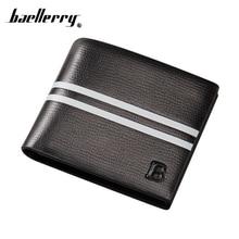 купить Baellerry Short Money Men Wallet Male Purse Bag Cuzdan For Baellery Portomonee Walet Vallet Kashelek Klachi Billetera Partmone по цене 328.67 рублей