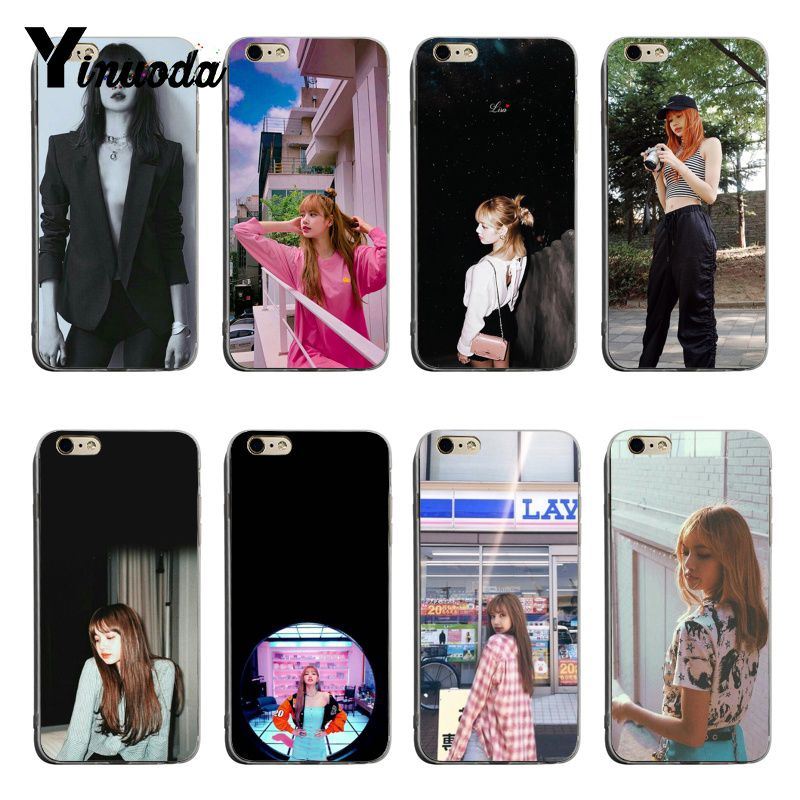 Half-wrapped Case Phone Bags & Cases Yinuoda Black Pink K-pop Blackpink Kpop Collage 2018 Colored Drawing Soft Tpu Phone Case For Iphone X Xs Xr Xsmax 6 6s 7 8plus