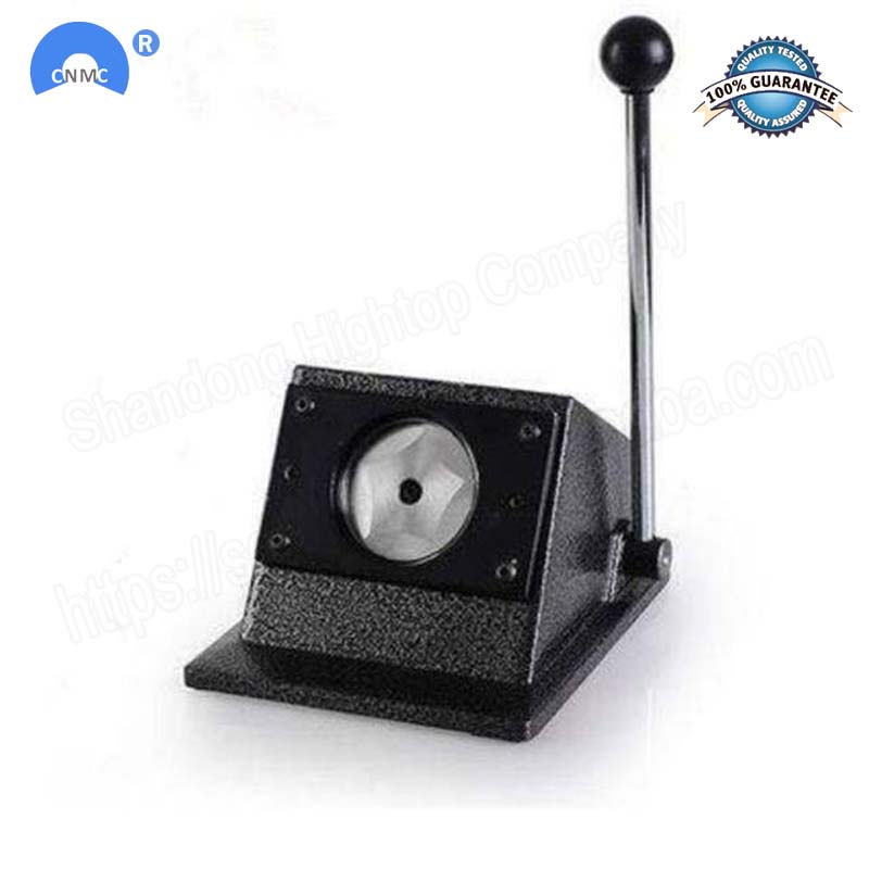 Coupeur rond manuel d'insigne de coupeur de papier de bouton rond faisant des boutons de goupille de 25/32/37/44/58mm