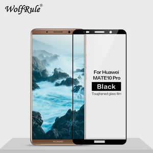 Image 1 - 2pcs Screen Protector Glass For Huawei Mate 10 Pro Tempered Glass For Huawei Mate 10 Pro Full Cover Glass For Huawei Mate 10Pro