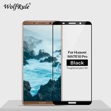 Vetro temperato 2 pezzi per Huawei Mate 10 Pro vetro temperato per Huawei Mate 10 Pro vetro a copertura totale per Huawei Mate 10Pro